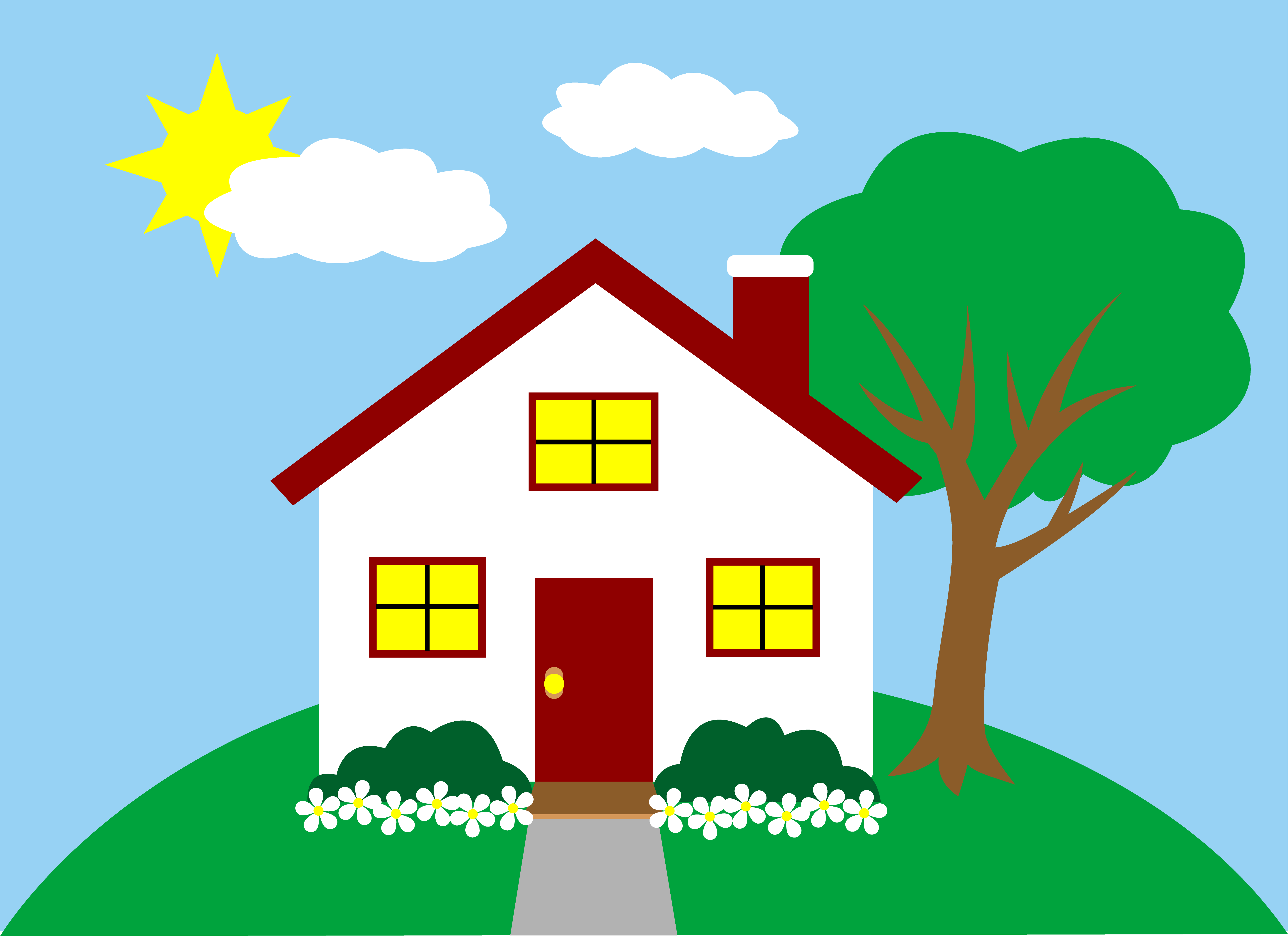 House hd clipart jpg transparent Free Cartoon Picture Of House, Download Free Clip Art, Free Clip Art ... jpg transparent