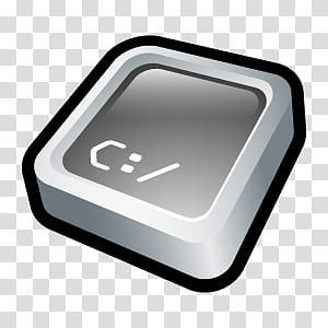 D Cartoon Icons II, Command Prompt, Command prompt transparent ... image black and white library