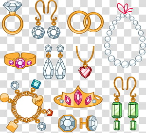 Cartoon jewelry clipart svg black and white library Jewelry transparent background PNG clipart | PNGGuru svg black and white library