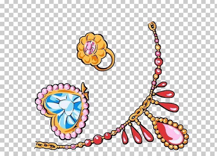 Cartoon jewelry clipart clip black and white library U9996u98fe Jewellery Cartoon Illustration PNG, Clipart, Body Jewelry ... clip black and white library