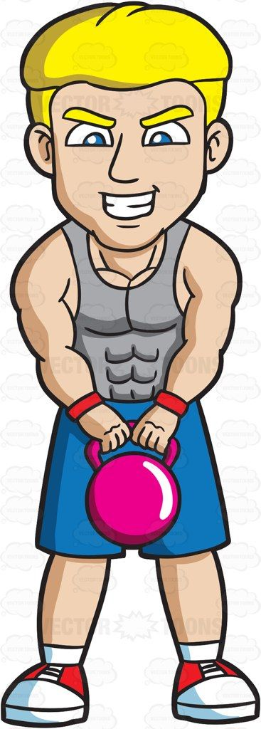 Cartoon kettlebell clipart graphic royalty free stock A Man Carrying A Kettlebell | Cartoon clipart | Kettlebell, Grey ... graphic royalty free stock
