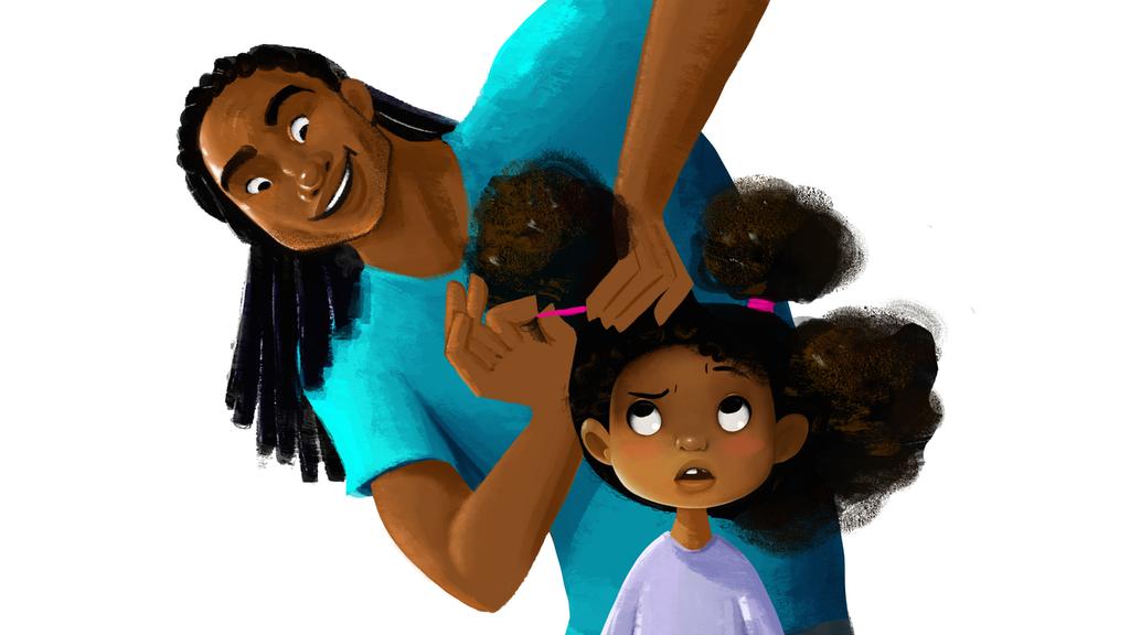 Hair Love | Animated Short Film by Matthew A. Cherry — Kickstarter image free
