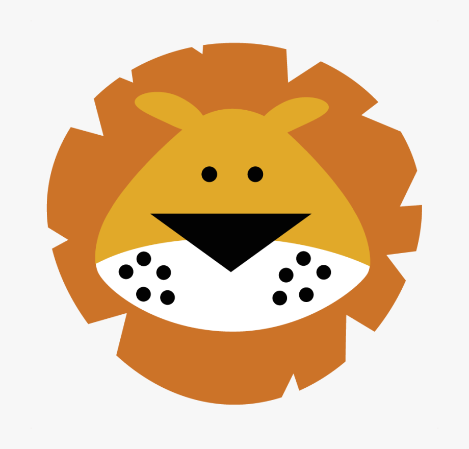 Cartoon lion head roaring facing the right clipart svg free download Cute Lion Head Clipart , Transparent Cartoon, Free Cliparts ... svg free download