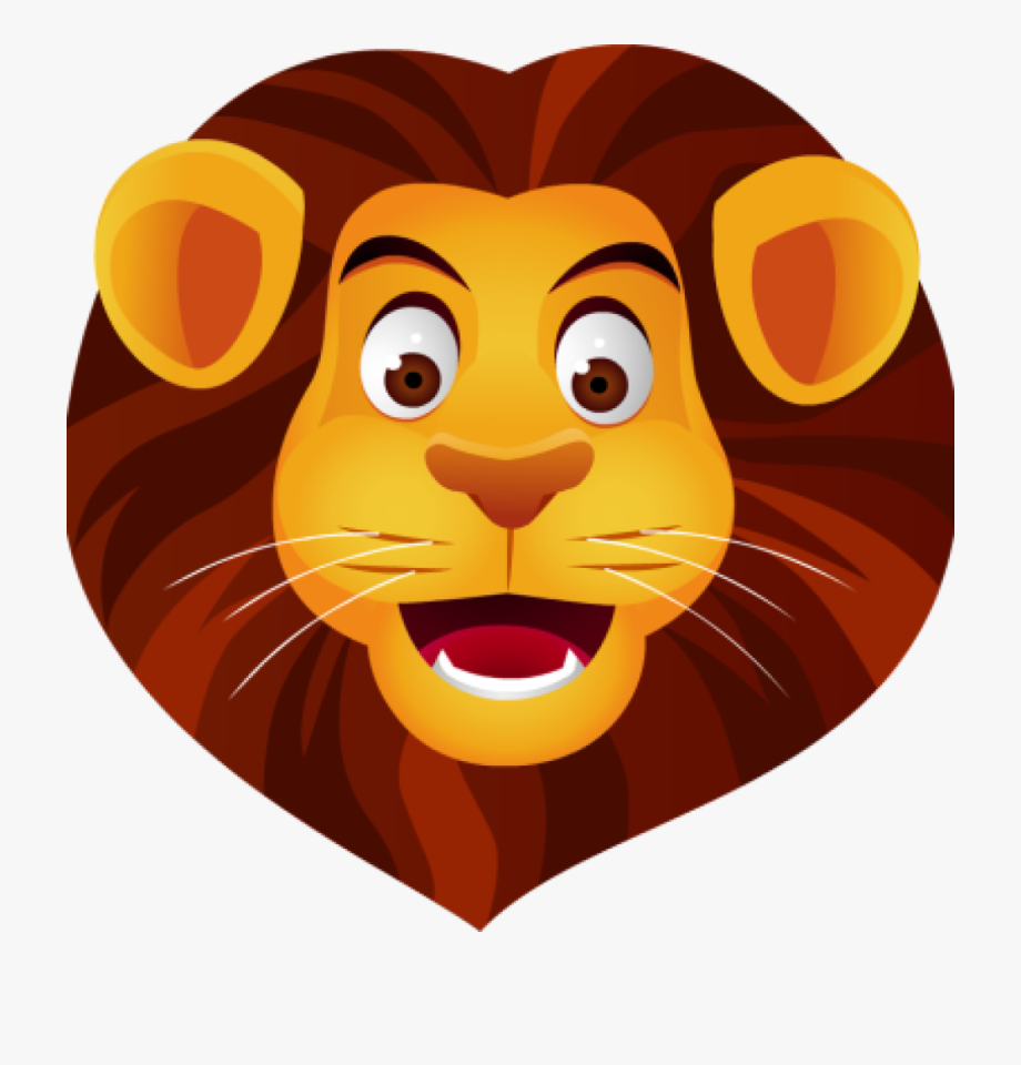 Cartoon lion head roaring facing the right clipart graphic transparent download Free Clip Art Lion Head Vector And Ⓒ - Lion Face Clipart ... graphic transparent download