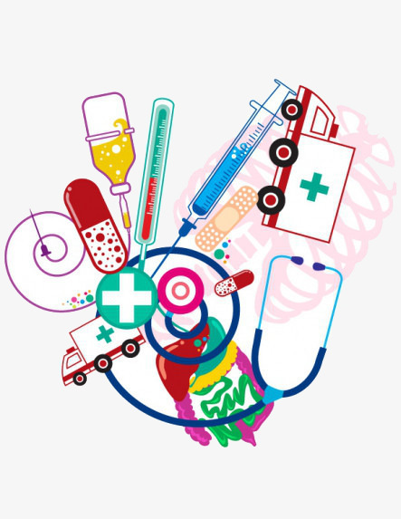 Cartoon Medical Supplies, Cartoon Clipart, Medical Clipart, Cartoon ... png royalty free library