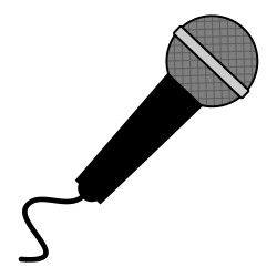 Cartoon microphone clipart svg royalty free download Free microphone clipart from icontoon.com. These images can be used ... svg royalty free download