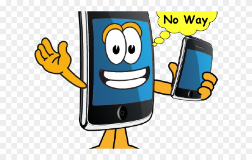 Cartoon mobile phone clipart picture freeuse download Smartphone Clipart Smartphone App - Phone Cartoon Png Transparent ... picture freeuse download