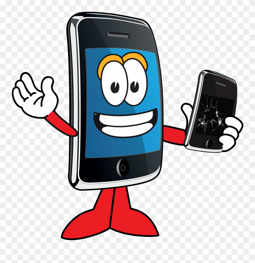 Cartoon mobile phone clipart freeuse Software Clipart Cellphone Repair Shop - Cartoon Repair Phone Png ... freeuse