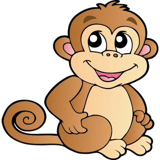 Cartoon monkey clipart banner library stock Found on Bing from www.clipartpanda.com | Rock painting | Cartoon ... banner library stock