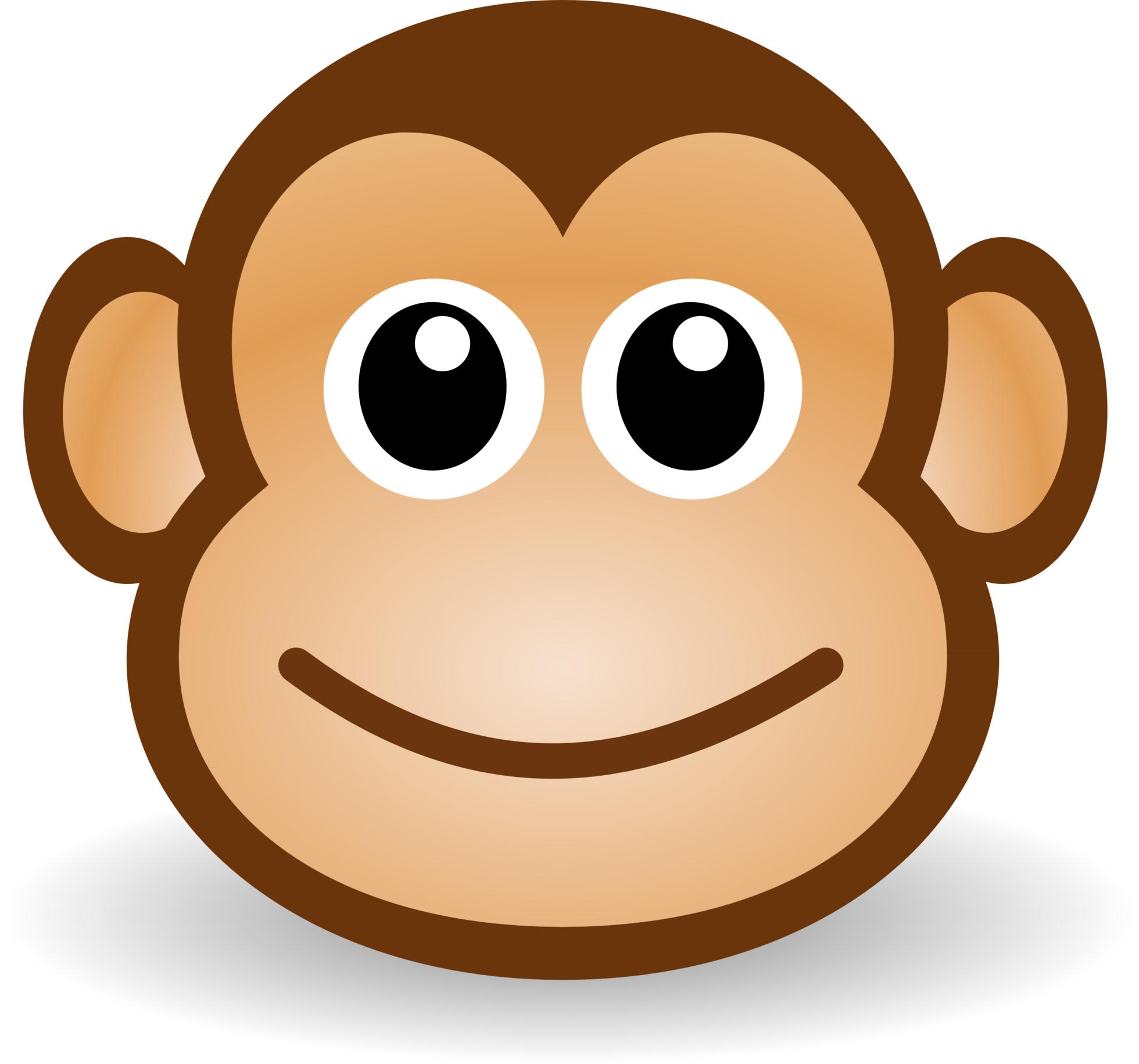 Cartoon monkey clipart vector black and white download Cartoon-Monkey-Clipart-   Clipart Panda - Free Clipart Images vector black and white download