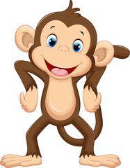 Cartoon monkey clipart royalty free library Cute monkey cartoon - Buy this stock vector and explore similar ... royalty free library