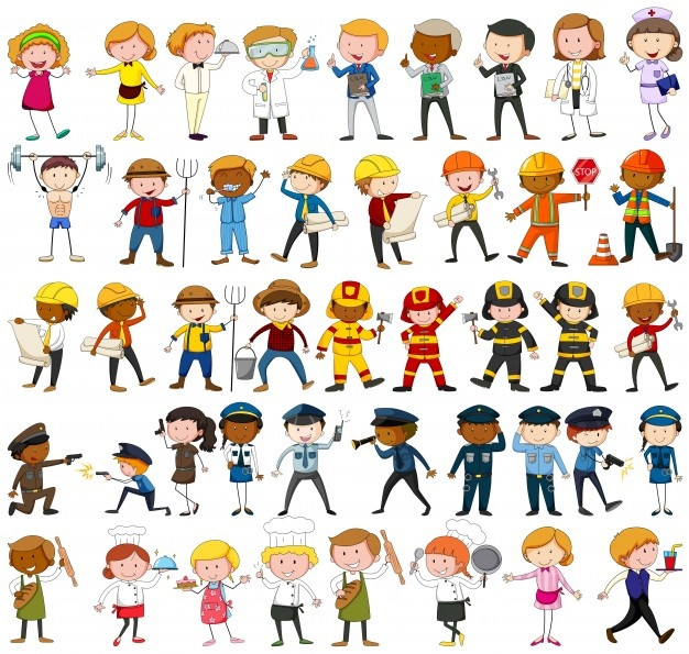Cartoon occupations clipart picture free Occupation Vectors, Photos and PSD files | Free Download picture free