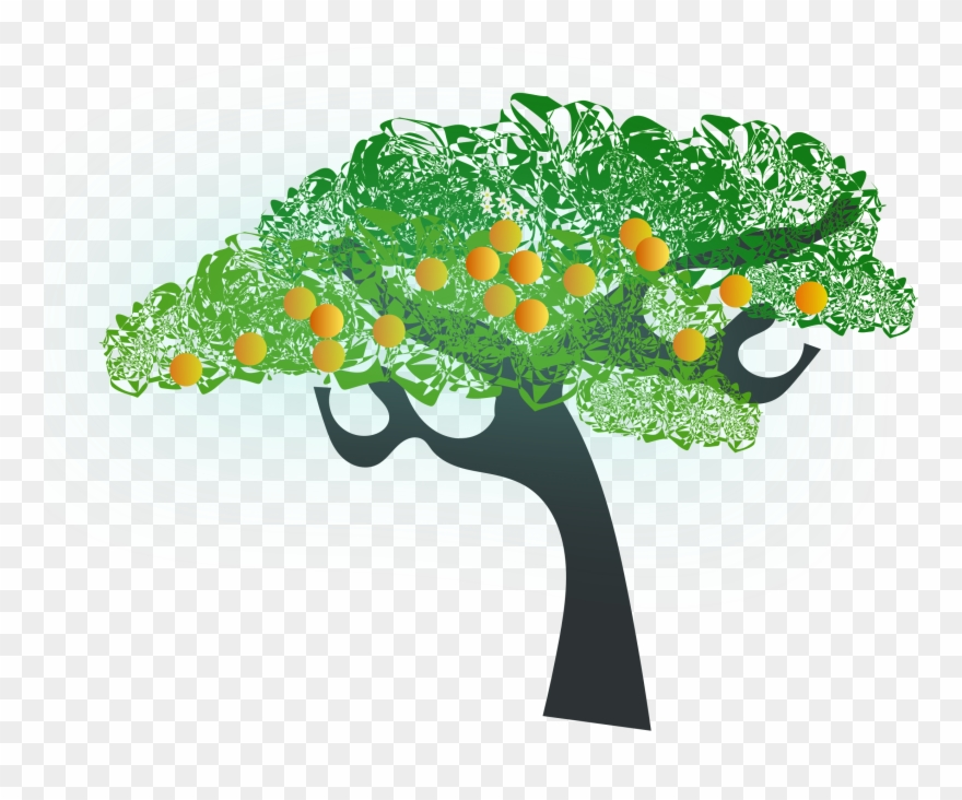 Fig Tree Clipart At Getdrawings - Orange Tree Clip Art - Png ... graphic free
