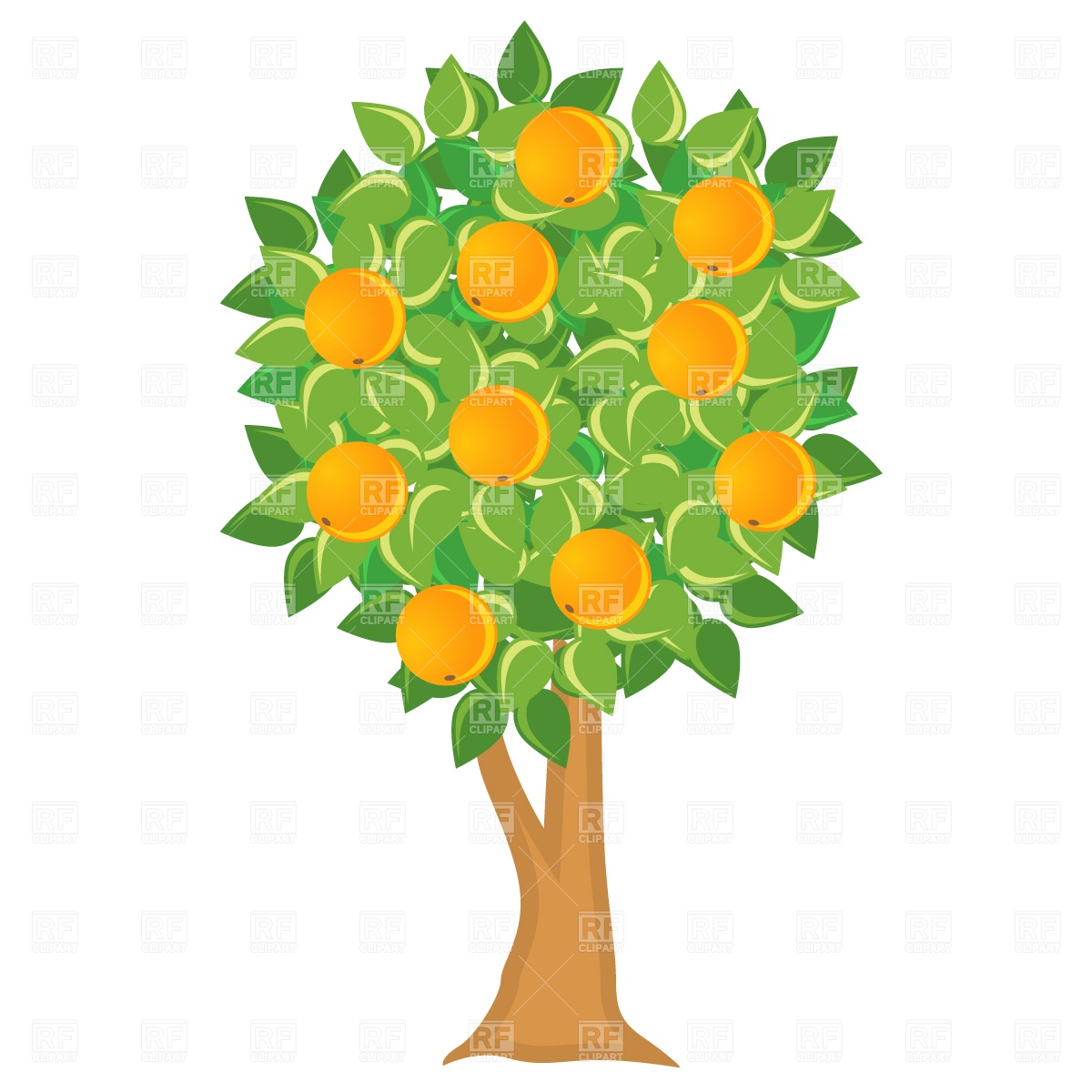Free Orange Tree Cartoon, Download Free Clip Art, Free Clip Art on ... clip art black and white