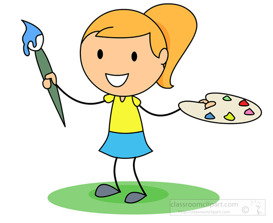 Cartoon painting clipart graphic transparent download Cartoon Paint Brush Clipart | Free download best Cartoon Paint Brush ... graphic transparent download