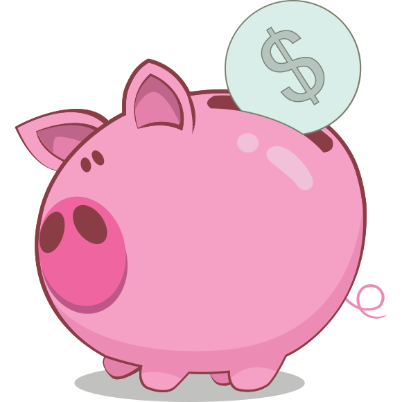 Cartoon piggy bank clipart jpg Piggy Bank Clipart - cilpart jpg