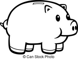 Cartoon piggy bank clipart freeuse stock Cartoon piggy bank clipart - ClipartFest freeuse stock