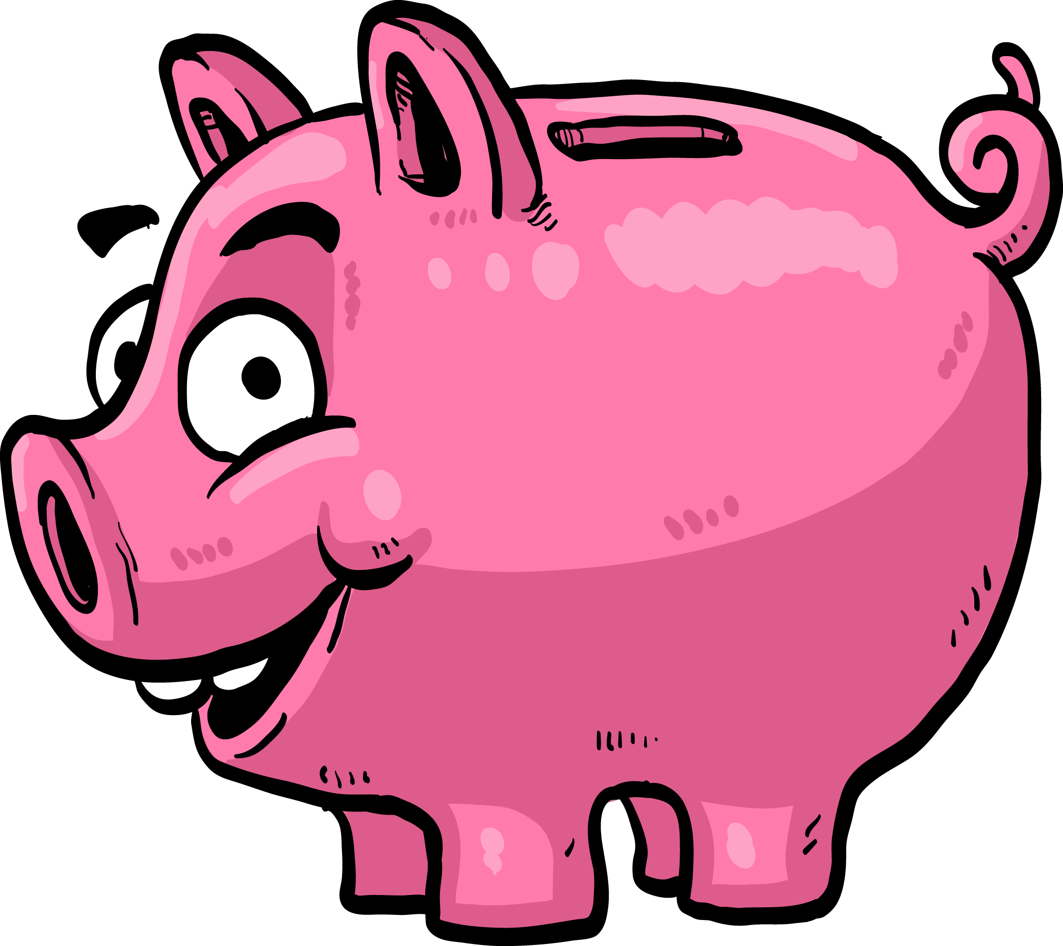 Cartoon piggy bank clipart jpg free Money Saving Piggy bank Clip art - Piggy bank 2085*1856 transprent ... jpg free