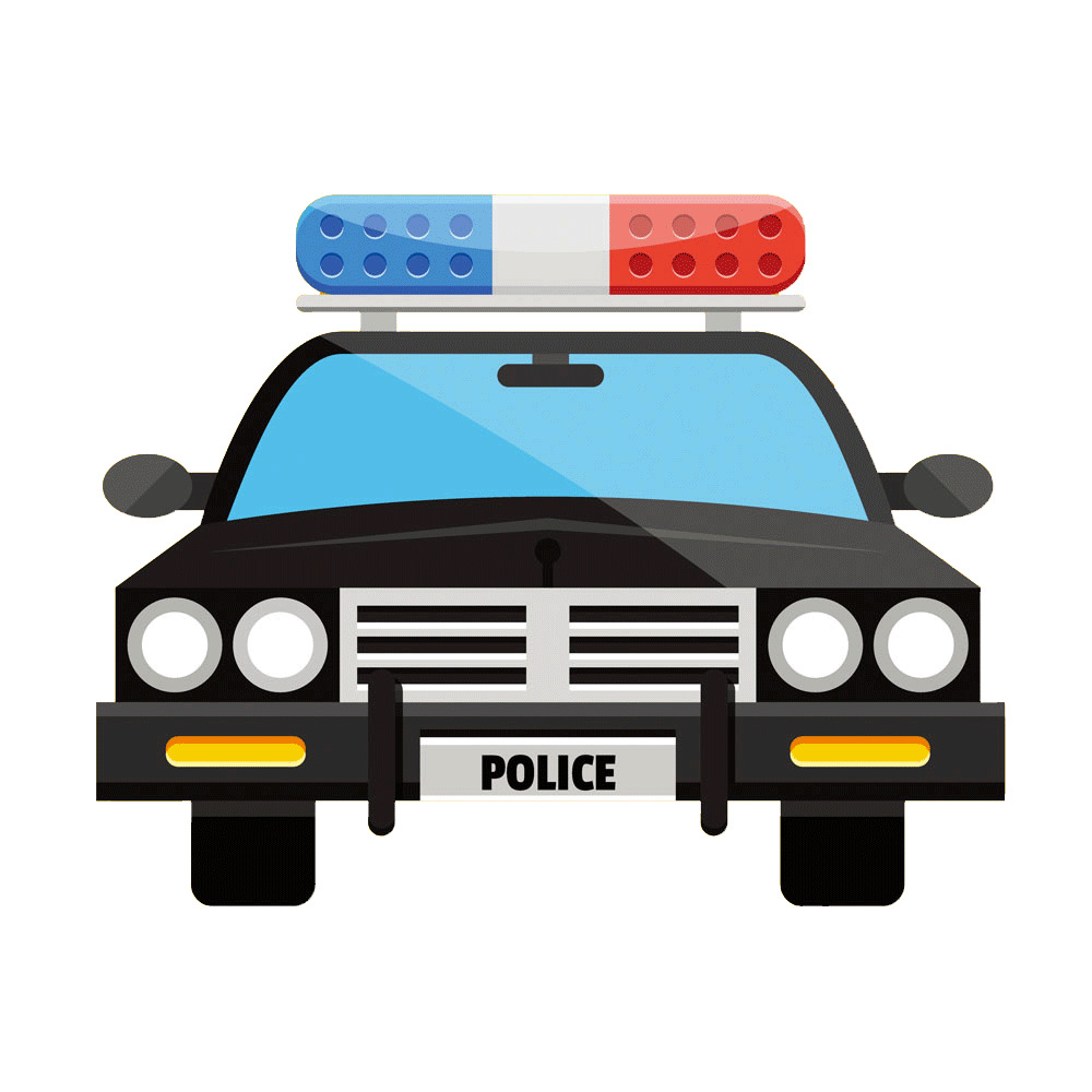 Police car Clip art - Flat cartoon police car 1000*1000 transprent ... banner transparent download