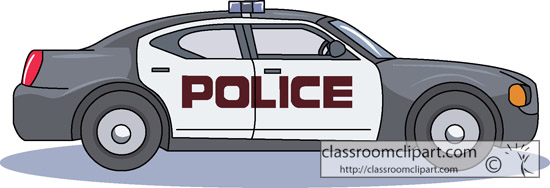 Cartoon police car clipart - ClipartFest clip transparent