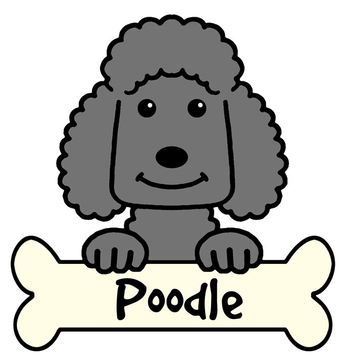 Cartoon poodle clipart graphic free Poodle Cartoon Clipart | Free download best Poodle Cartoon Clipart ... graphic free
