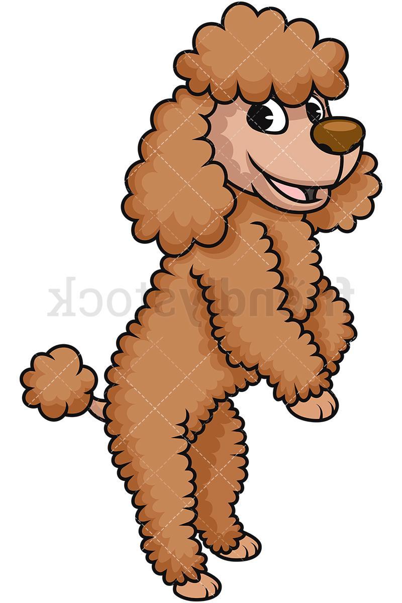 Cartoon poodle clipart clip library stock Unique Cartoon Poodle Clip Art Design ~ Vector Images Design clip library stock