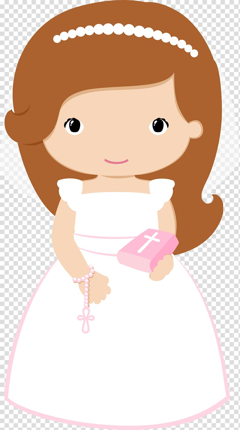 Cartoon praying hands with rosary clipart for bautizo svg transparent stock Bride holding bible , First Communion Baptism Eucharist ... svg transparent stock