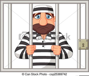 Cartoon prisoner clipart picture royalty free Cartoon Prisoner Clipart | Free Images at Clker.com - vector clip ... picture royalty free