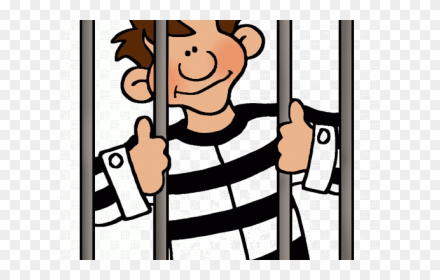 Cartoon prisoner clipart clip library download Prison Clipart Cartoon - Person In Jail Clipart - Png Download ... clip library download