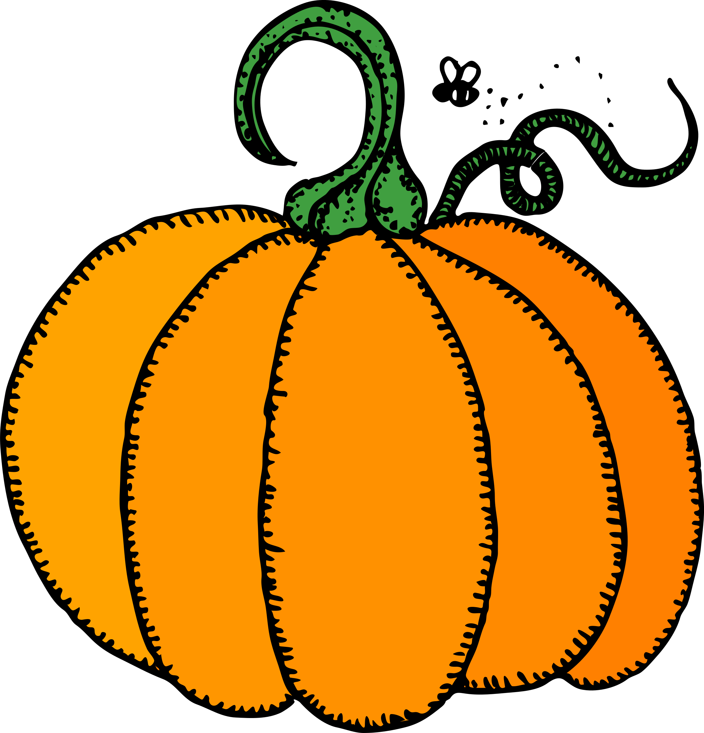 October pumpkin clipart free image freeuse Clipart - Architetto -- zucca image freeuse