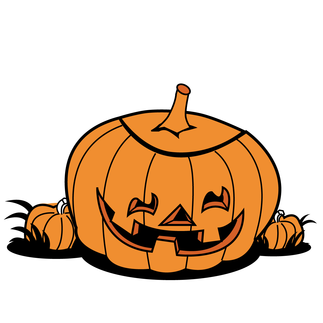 Pumpkin patch clipart png graphic transparent download Halloween pumpkin patch clip art free clipart images 2 - Clipartix graphic transparent download