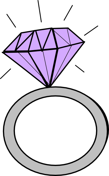 Cartoon ring clipart png Diamond Ring Cartoon Clipart Library Clip Art Transparent Png - AZPng png