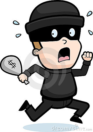 Cartoon robber clipart graphic black and white Animated Robber Clipart - Clipart Kid graphic black and white