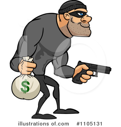 Cartoon robber clipart graphic black and white stock Cartoon robber clipart - ClipartFest graphic black and white stock