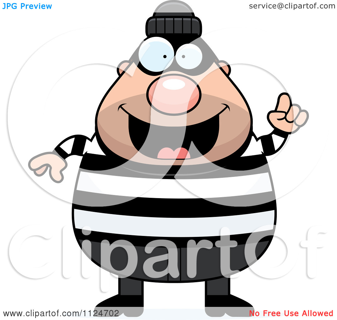 Cartoon robber clipart. Robbery kid of a