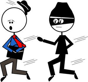 Cartoon robber clipart picture freeuse Animated Robber Clipart - Clipart Kid picture freeuse