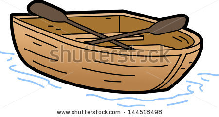 Cartoon Rowing Boat Stock Photos, Royalty-Free Images & Vectors ... image black and white library