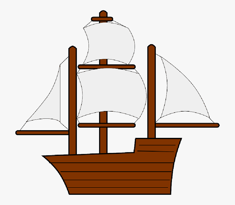 Set sail clipart clear image library library Mayflower Clipart Sail Boat - Old Ship Clipart , Transparent Cartoon ... image library library