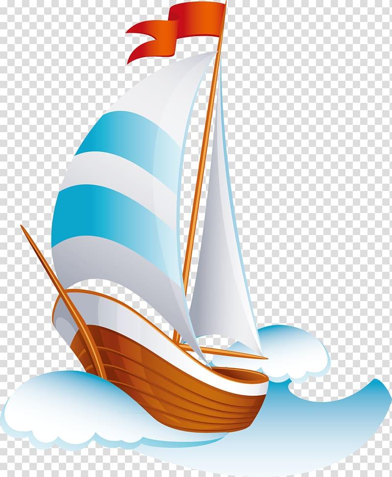 Cartoon sailing ship clipart royalty free download Cartoon Sailing ship, Cartoon ship transparent background PNG ... royalty free download