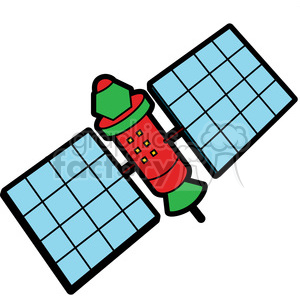 Cartoon satellite clipart image free library cartoon satellites illustration graphic clipart. Royalty-free clipart #  398033 image free library
