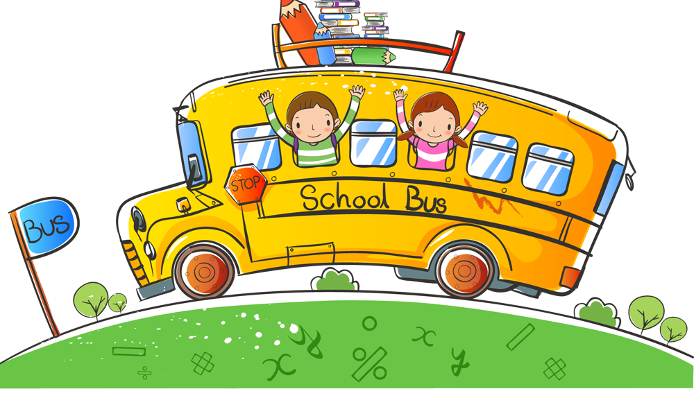School bus clipart free png royalty free School bus Clip art - Hand-painted children 6 1000*600 transprent ... png royalty free