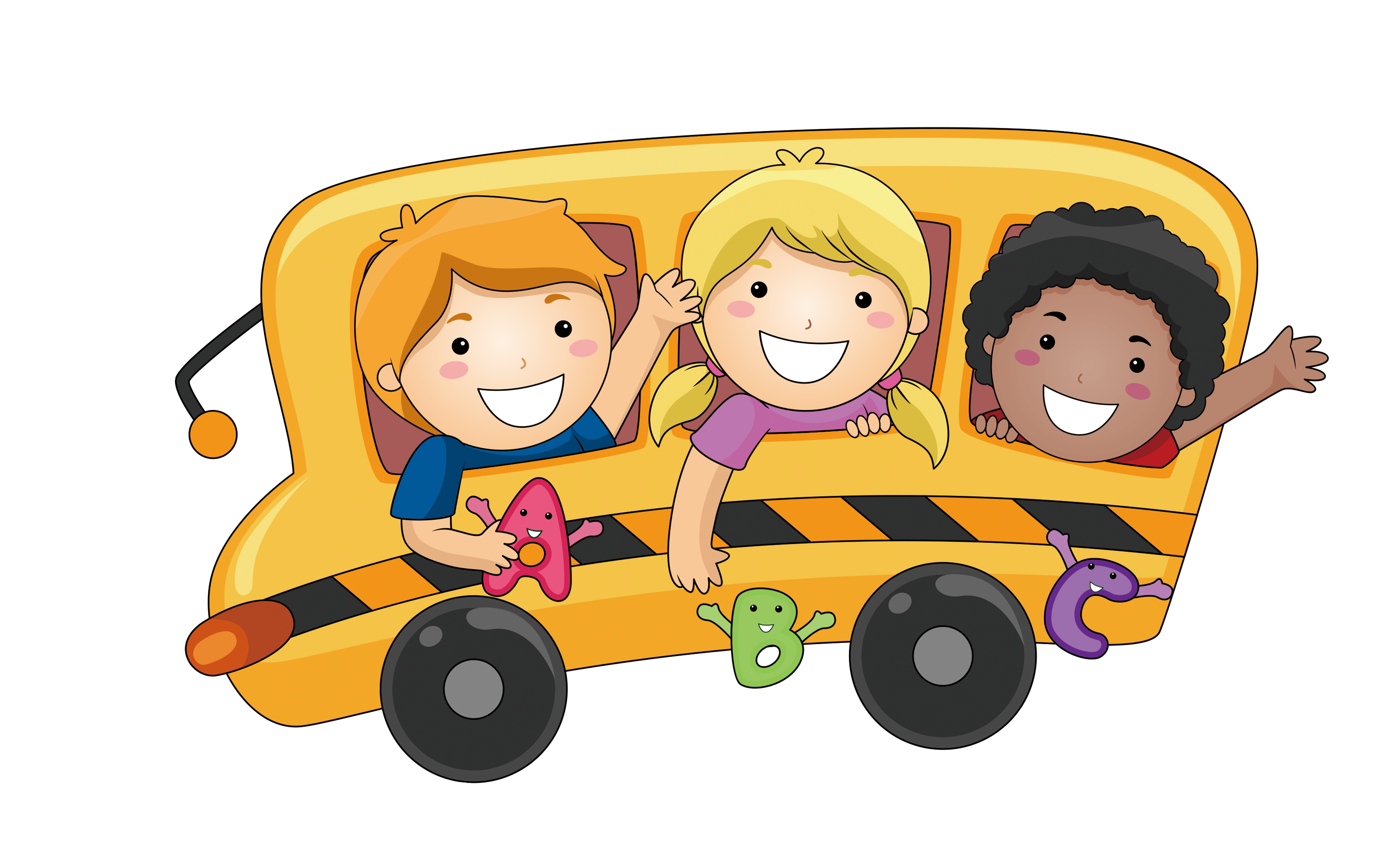 Cartoon school bus clipart banner library library Royalty-free Stock photography Clip art - Cartoon school bus 8322 ... banner library library