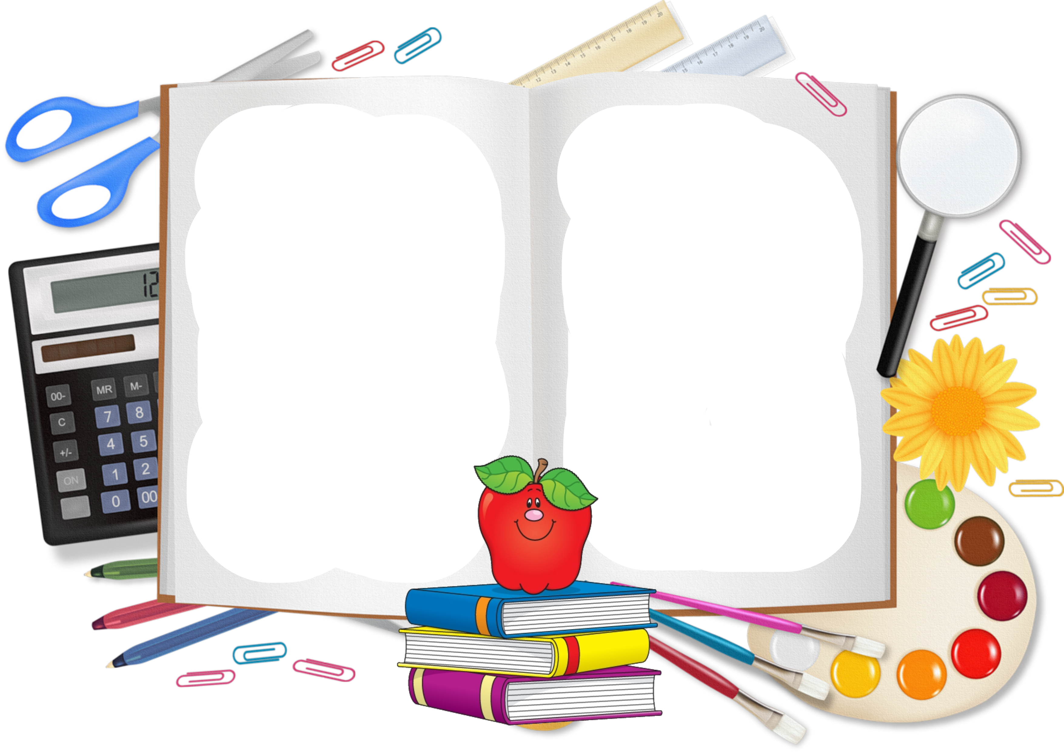 School supplies clipart free graphic freeuse download Student School supplies Clip art - Cartoon book pencil free to pull ... graphic freeuse download