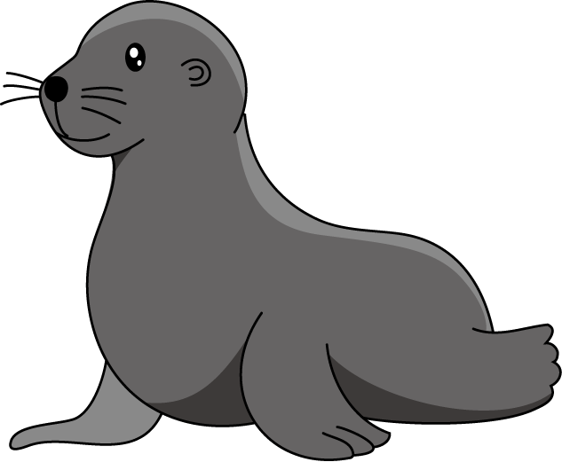 Cartoon seal clipart png black and white Sea Lion Clipart - Clipart Kid | seal sea lion | Lion cartoon ... png black and white