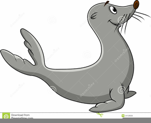 Cartoon seal clipart picture transparent library Animated Seal Clipart | Free Images at Clker.com - vector clip art ... picture transparent library