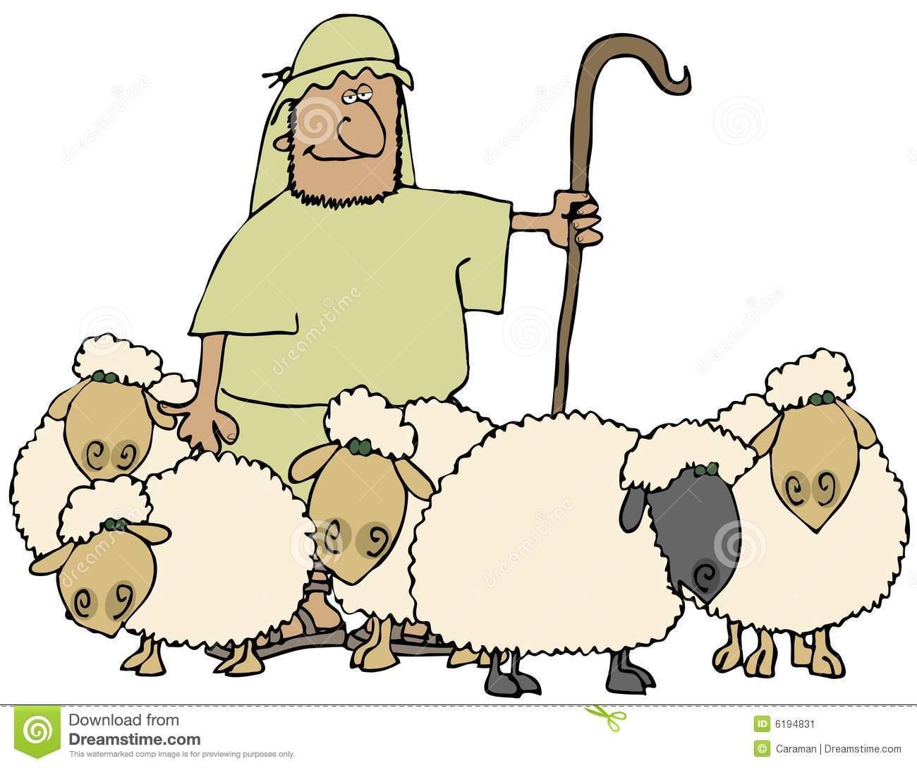 Cartoon shepherd clipart clip art library Sheep and shepherd clipart 1 » Clipart Portal clip art library