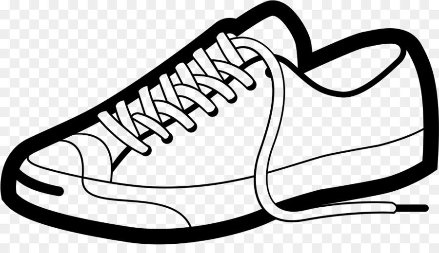 Clipart cartoon shoes clip art black and white download White Background clipart - Clothing, White, Black, transparent clip art clip art black and white download