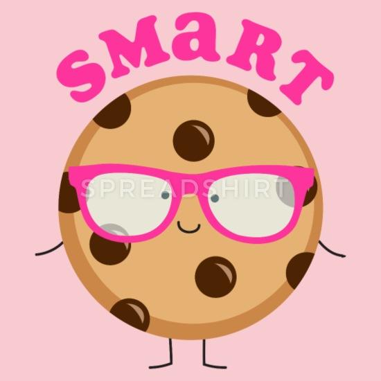 Cartoon smart cookie clipart clip art stock Smart Cookie Kids\' T-Shirt | Spreadshirt clip art stock