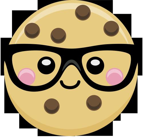 Cartoon smart cookie clipart clipart stock Rosanna Pansino | nerds numies | Rosanna pansino nerdy nummies, Cute ... clipart stock