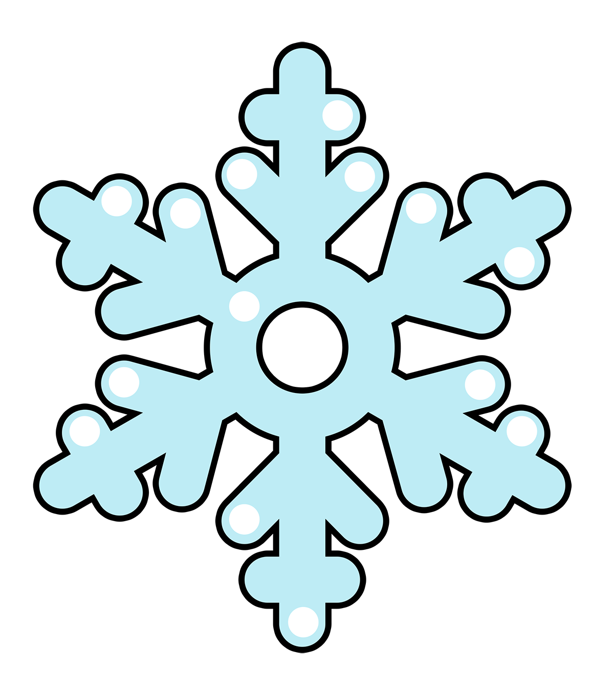 Cartoon snowflake clipart picture free stock Cartoon Snowflake Pictures | Free download best Cartoon Snowflake ... picture free stock